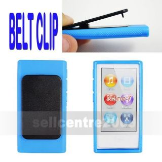 Hard Case Cover for Apple iPod Nano 7 7g 7th Gen w Belt Clip