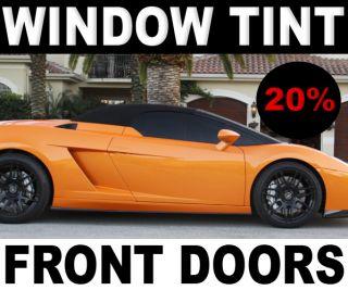 Dodge RAM 2500 Quad 06 09 Precut Front Doors Tint Solarshield X™ 20