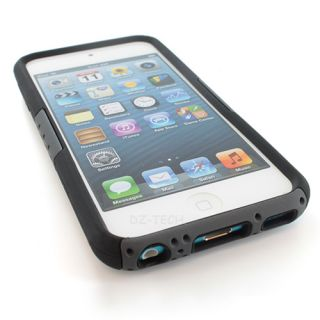Hybrid Gel Hard Case Cover Kickstand for Apple iPod Touch 5 5g