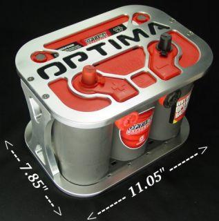 Optima 34 78 Billet Aluminum Battery Tray 3478 PHS