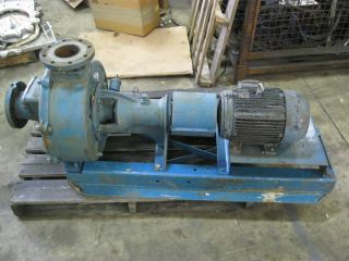 Crane 4 Centrifugal Irrigation Pump B409D B40 9D w 10HP Motor