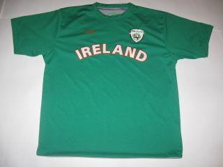 Ireland Jersey Shirt Soccer Fai Umbro Vintage Irish Jersey Football