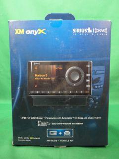 Sirius Satellite Radio XM Onyx Model XDNX1V1B Vehicle Motorcycle Radio