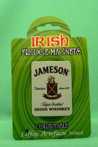Jameson Irish Whiskey Collectable Metal Fridge Magnet Ireland