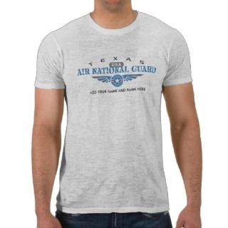 Texas Air National Guard T Shirts