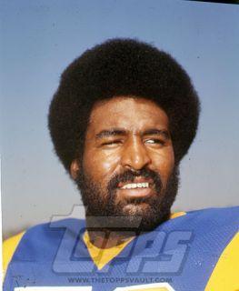 Football Final Color Negative Isiah Robertson Los Angeles Rams