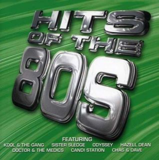 Hits of The 80s Various Artists Audio Music CD Rock Pop