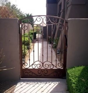 Wrought Iron Gate  Entry Gate