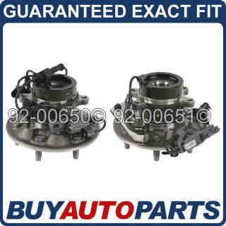 LEFT AND RIGHT WHEEL HUB BEARINGS   CHEVY COLORADO CANYON & I SERIES