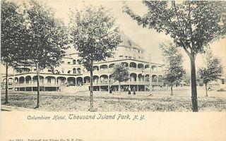NY Thousand Island Park Columbian Hotel K53219