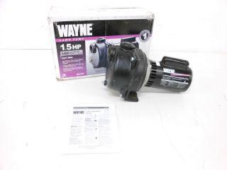 Wayne WLS150 1 1 2 Horsepower Cast Iron Lawn Sprinkling Pump