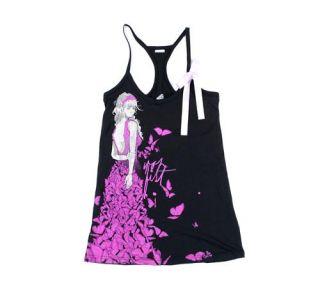 Iron Fist Clothing Madame Butterfly Tank Top
