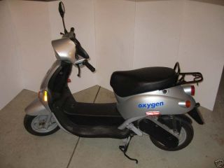 Lepton E Oxygen Italian Made Electric Moped Scooter
