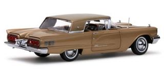 1960 Ford Thunderbird Hard Top 1 18 Scale Diecast Model Gold Dust Sun