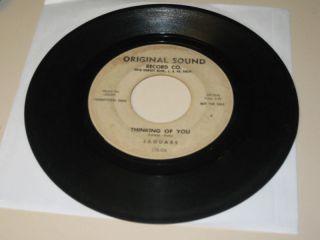 Doo Wop 45rpm Record Jaguars Original Sound 06 Promo