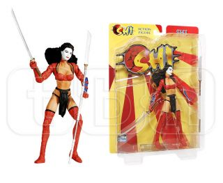 Shi Action Figure ANA Ishikawa Comic Dark Horse Way of The Warrior