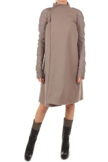 Rick Owens Lady Cone Coat Ro 2911 MLB Col Powder Brown Size 40ITA