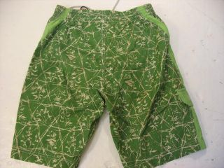 Tommy Bahama Mens Small Board Shorts Swim Trunks Cargo Global Green