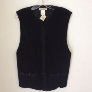 Issey Miyake Pleats Vest Size XL