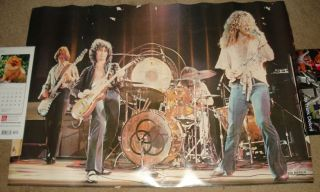 Led Zeppelin Poster 2 Jimmy Page Robert Plant John Bonham J Paul Jones