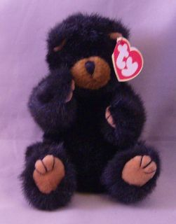 Ty Beanie Baby Ivan The Jointed Bear Born 1993