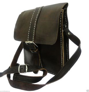 Vintage Genuine Authentic Crocodile Leather Hornback Cross Body Bag