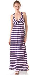 Splendid Scarf Stripes Maxi Dress
