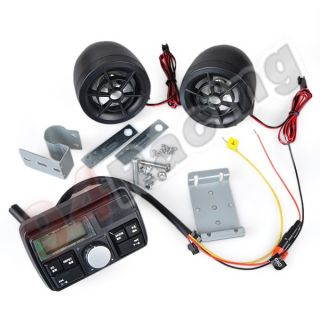 Motorcycle Audio System  Stereo Speaker Support USB/FM/SD/TF(B 619)