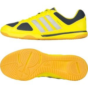 Adidas Top Sala x Mens US 8 Indoor Soccer Football Boot Shoe Yellow