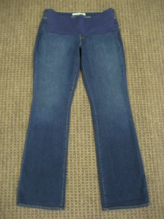 Brand Maternity Jeans Stretch Bootcut Jeans Dark Blue Size 31 Medium