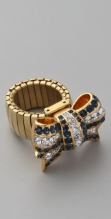 Juicy Couture Brentwood Prepster Pave Bow Ring