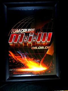 Mission Impossible III 2006 One Sheet VG FN Action Thriller Tom Cruise