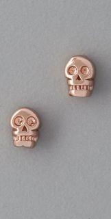 Bing Bang Tiny Skull Stud Earrings
