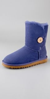 UGG Australia Perforated Bailey Button Boots