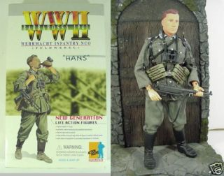 WWII German Officer Dragon 12 Figure Hans 1st Figure