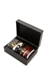 La Mer Collections Gold Watch & Interchangeable Straps