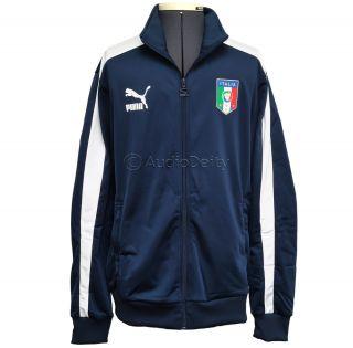 new Puma Italia Mens T7 Track Jacket Italy National Soccer Team