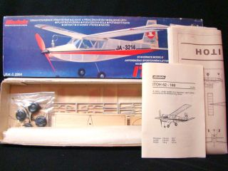 1970s Modela Japanese Itoh 62 160 Air Plane Model Kit Vtg Old Antique