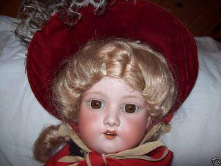 28 Armand Marseille Bisque Shoulder Head Doll Kid Body