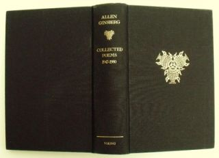 Allen Ginsberg Collected Poems 1947 1980 1985 Signed 1st UK Edition