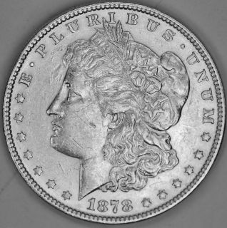 1878 P Morgan Silver Dollar High Grade