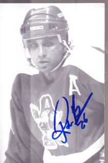 Robin Bawa 1991 Milwaukee Admirals Signed Postcard