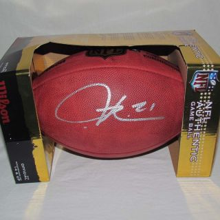LaDainian Tomlinson Autographed Official NFL Football with COA and LT