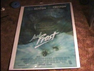 Jack Frost Lenticular 27x40 Movie Poster Michael Keaton