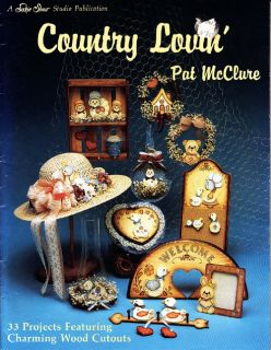 Craft Books 1380 Country Lovin Tole Painting