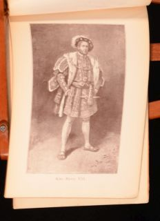 1898 Souvenir of King Henry The Eight Lyceum Theatre Henry Irving