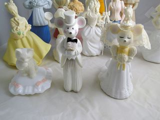 Vintage Avon Figurine Bottle Collection