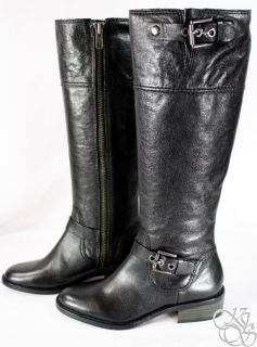 Coach Jacinda Black Tall New Leather Riding Boot Size 6