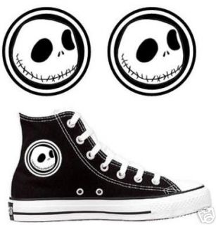 Jack Skellington Decals for Converse Chuck Taylor Shoes