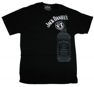 Jack Daniels T Shirt Large Bottle Tee